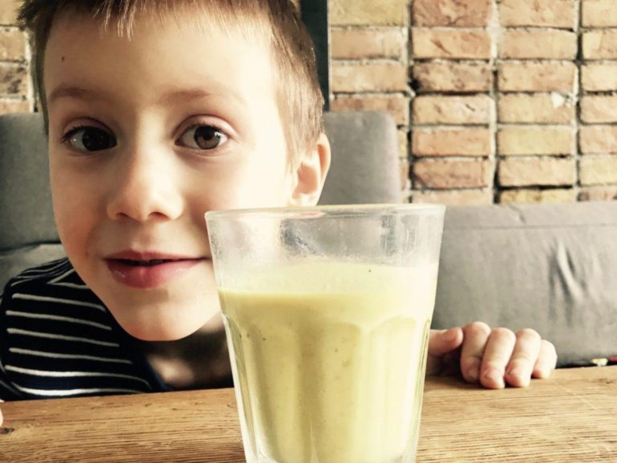Złote mleko na ostro